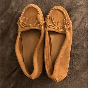 Barely used Minnetonka shoes